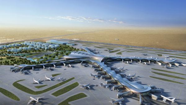 Midfield Terminal and South Airfield, Abu Dhabi